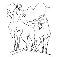 116 dessins de coloriage cheval à imprimer