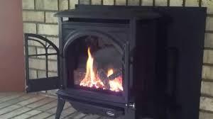 enviro ascot gas stove safe home fireplace youtube