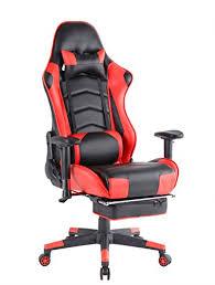 chaise de bureau a gamer ergonomique gaming pivotant ordinateur chaise de bureau à