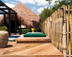 34 brilliant ideas for an attractive bamboo garden fence