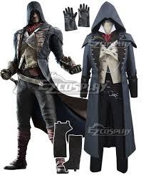 Assassin Halloween Costumes Creed Unity Arno Victor Dorian Cosplay Costume