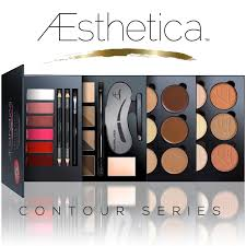amazon com aesthetica cosmetics contour series contouring and