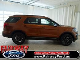 Ford Explorer Horsepower - 2017 new ford explorer xlt fwd at fairway ford serving youngstown
