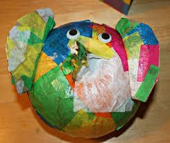Elmer The Patchwork Elephant Story - elmer the patchwork elephant pumpkin pal easy to make using