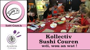 cours cuisine sushi mäin konzept kollektiv sushi cours zu lëtzebuerg sushi cours