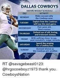 Cowboys Haters Memes - 25 best memes about dallas cowboy haters dallas cowboy
