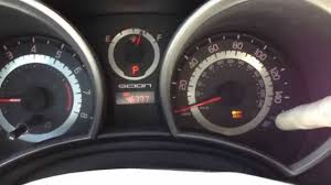 how to reset the maintenance light on a toyota corolla maint reqd how to reset maintenance light 2009 to 2013