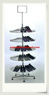 Shoe Display Racks Metal Rotary Shoes Display Rack Shoes Holder Shoes Stand