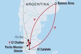 Patagonia South America Map by Patagonia Tours U0026 Travel Intrepid Travel Au