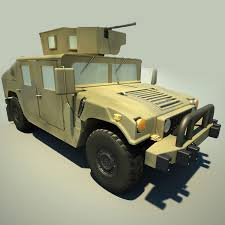 military hummer 3d model hmmwv military humvee hummer cgtrader