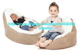 Bean Bag Chair Bed Modern Portable Baby Bean Bag Chair Baby Seat Furniture Kids