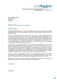 specimen of cover letter for job application cover letter design sample cover letter for unadvertised position
