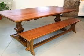 oak trestle dining table solid wood trestle dining table classic wooden trestle dining