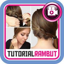 download tutorial rambut ke pesta download tutorial gaya rambut apk latest version app for android devices