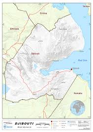Djibouti Map 2 3 Djibouti Road Network Logistics Capacity Assessment Wiki