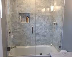 Corner Bathtub Ideas Shower Awesome Modern Tub Shower Combo Corner Bathtub Ideas