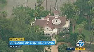 Los Angeles Arboretum Map by Dinner Poker Game Planned To Save 4 Historic Homes At La
