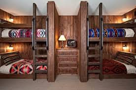 Bunk Beds Built Into Wall Bunk Beds Ideas For Modern Look Midcityeast