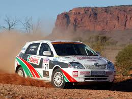toyota rally car create an