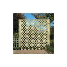diamond lattice trellis fence panels installation timber reading