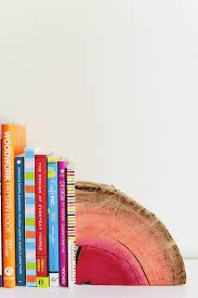 Book End Diy Half Log Bookends