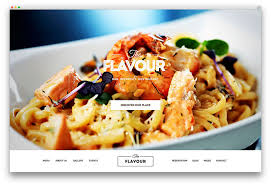 web cuisine 25 awesome food themes to recipes 2018 colorlib
