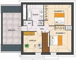 plan maison etage 4 chambres 1 bureau plan maison 4 chambres etage plan maison tage avec 4 chambres