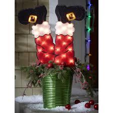 holiday time christmas lights holiday time christmas lights 21 lighted santa legs ebay
