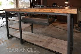 Work Desk Handmade Industrial Work Desk By Austin Retro Design Custommade Com