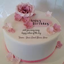 many many returns of the day happy birthday write name on image