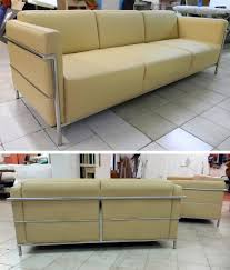 Yellow Leather Sofa by Sofas For Sale Italian Leather Discount