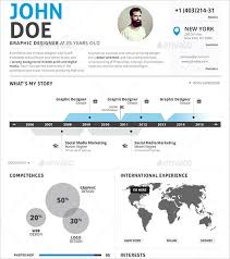 bright ideas infographic resume template 14 10 online tools to