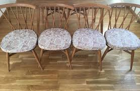 Ercol Dining Chair Set Of 4 Ercol Dining Chair Cushions In Clapham