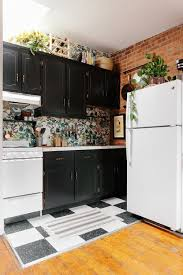 how to update rental kitchen cabinets 300 later this rental kitchen is no longer recognizable