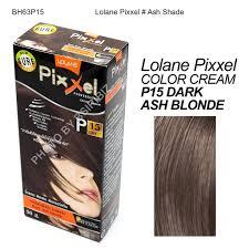 Color Shade by Lolane Pixxel Hair Permanent Dye Color Cream Various Colors Ash