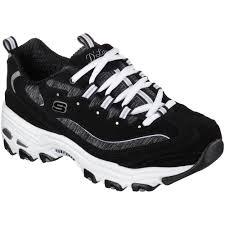fingerhut skechers women u0027s d u0027lites me time walking shoe black