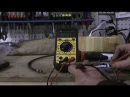 how to use a multimeter to test common things around the house