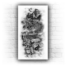 animal custom sleeve tattoo designs custom tattoo design images