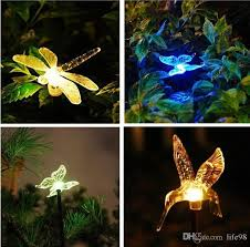 solar stake lights outdoor best solar stake lights outdoor garden color chaning led lights with
