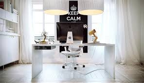 Chic Office Desk White Home Office Desk Furniture Decor Onsingularity
