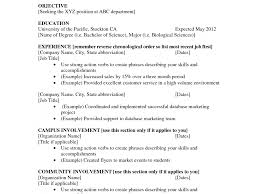 simple resume exles for sle resume templates with no work experience cv for year