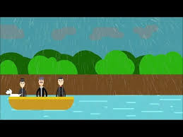 character sketch of three men in a boat