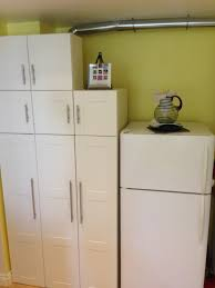 Washer And Dryer Cabinet Final Result Hiding Stackable Top Load Washer Dryer In Akurum
