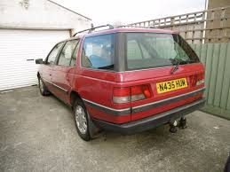 peugeot 405 glx 1 9td estate red offer accepted in ammanford