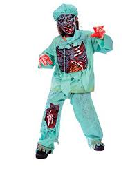 amazon com zombie doctor child halloween costume size 4 6 toys