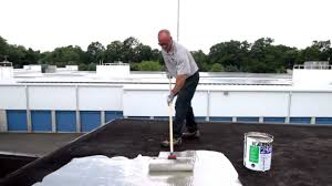 Surecoat Roof Coating by How To Apply 298 Rubberized Aluminum Roof Coating To Protect A