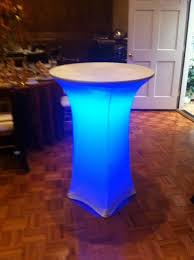 Led Bistro Table Equipment Rentals In Cornelius Carolina Rental And