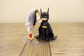 batman wedding cake toppers woman and batman cake topper wedding cake topper