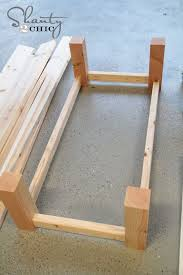 Diy Coffee Tables Best 25 Build A Coffee Table Ideas On Pinterest Diy Wood Table
