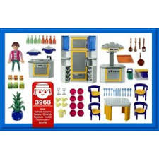 playmobil cuisine 5329 playmobil 3968 cuisinière et cuisine moderne achat et vente